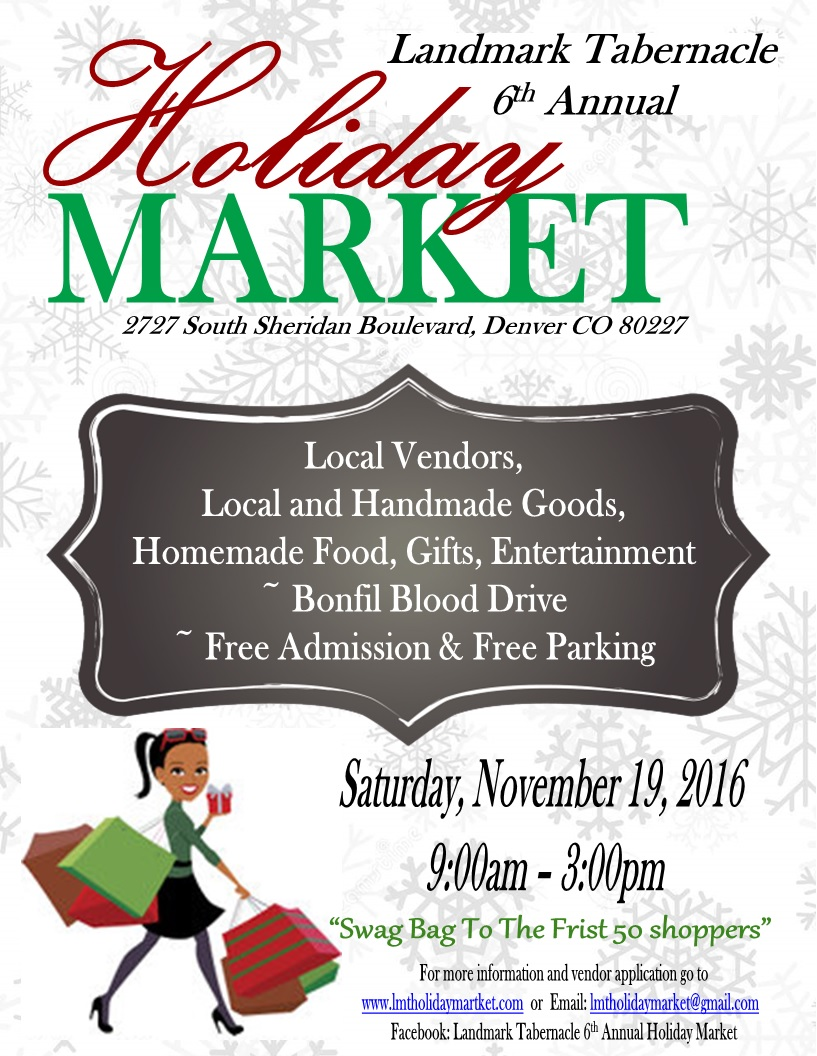 Landmark Tabernacle 6th Annual Holiday Market