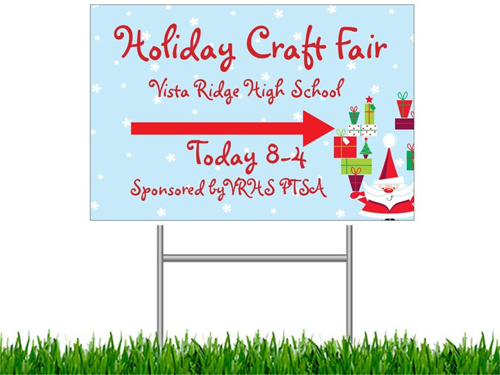Vista Ridge HighSchool 6th Annual Holiday Craft Fair